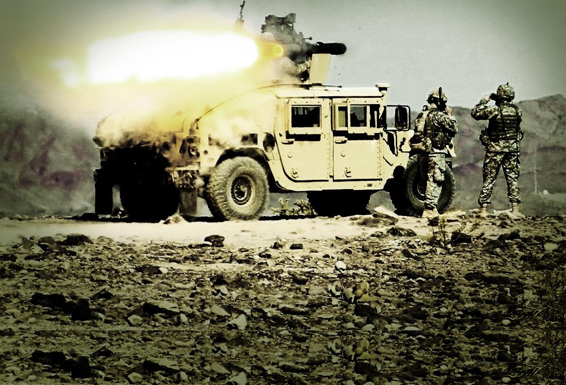 YPG Humvee